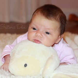 Letters to My Daughter: You're 1 month old!