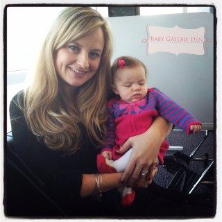 We survived flying with 2 kids