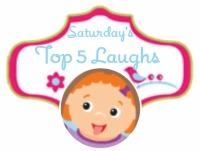 Saturday's Top 5 Laughs Blog Hop