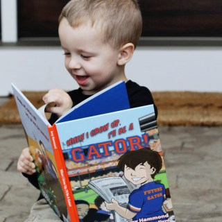 When I Grow Up, I'll Be a Gator! {Review & Giveaway)