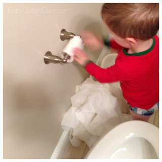 Potty Training: take 32.