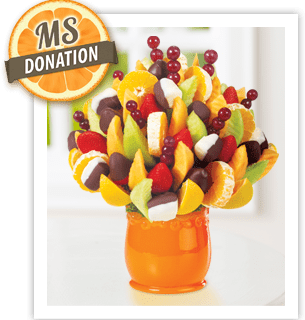Orange Support for MS & Edible Arrangements Giveaway