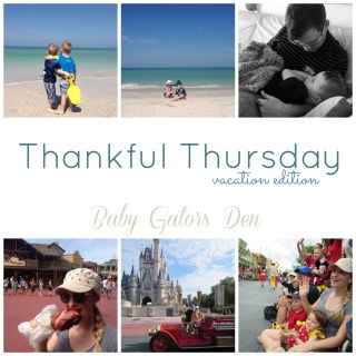 Thankful Thursday: May 2nd