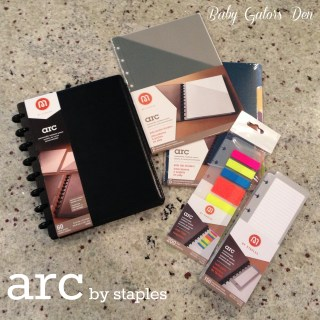 Getting organized with the Arc series by Staples