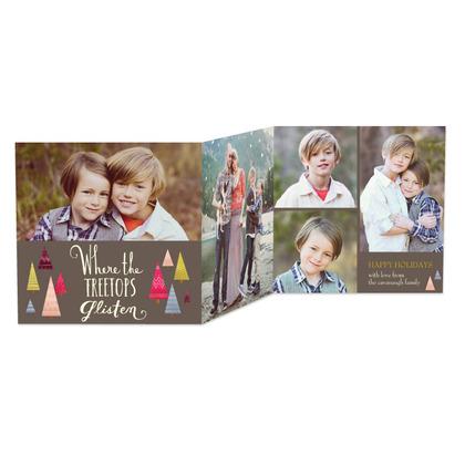 glistening_treetops-tri-fold_holiday_cards-the_nimbus_factory-goldenrod-yellow