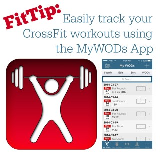 Using the MyWODs App to Track your CrossFit Workouts