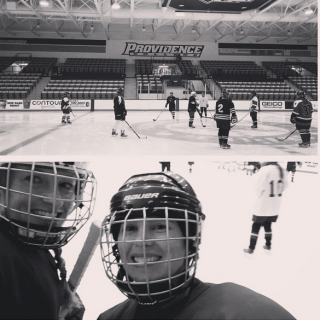 Learning how to play hockey in your thirties