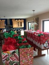 Gift bags ready to be delivered