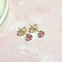Kids Birthstone Earrings - Children's Birthstone Earrings