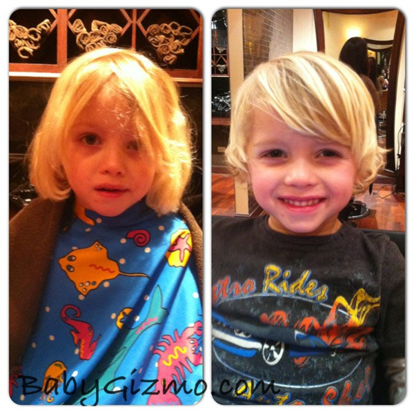 When The Baby Becomes A Boy Amp The Haircut Baby Gizmo
