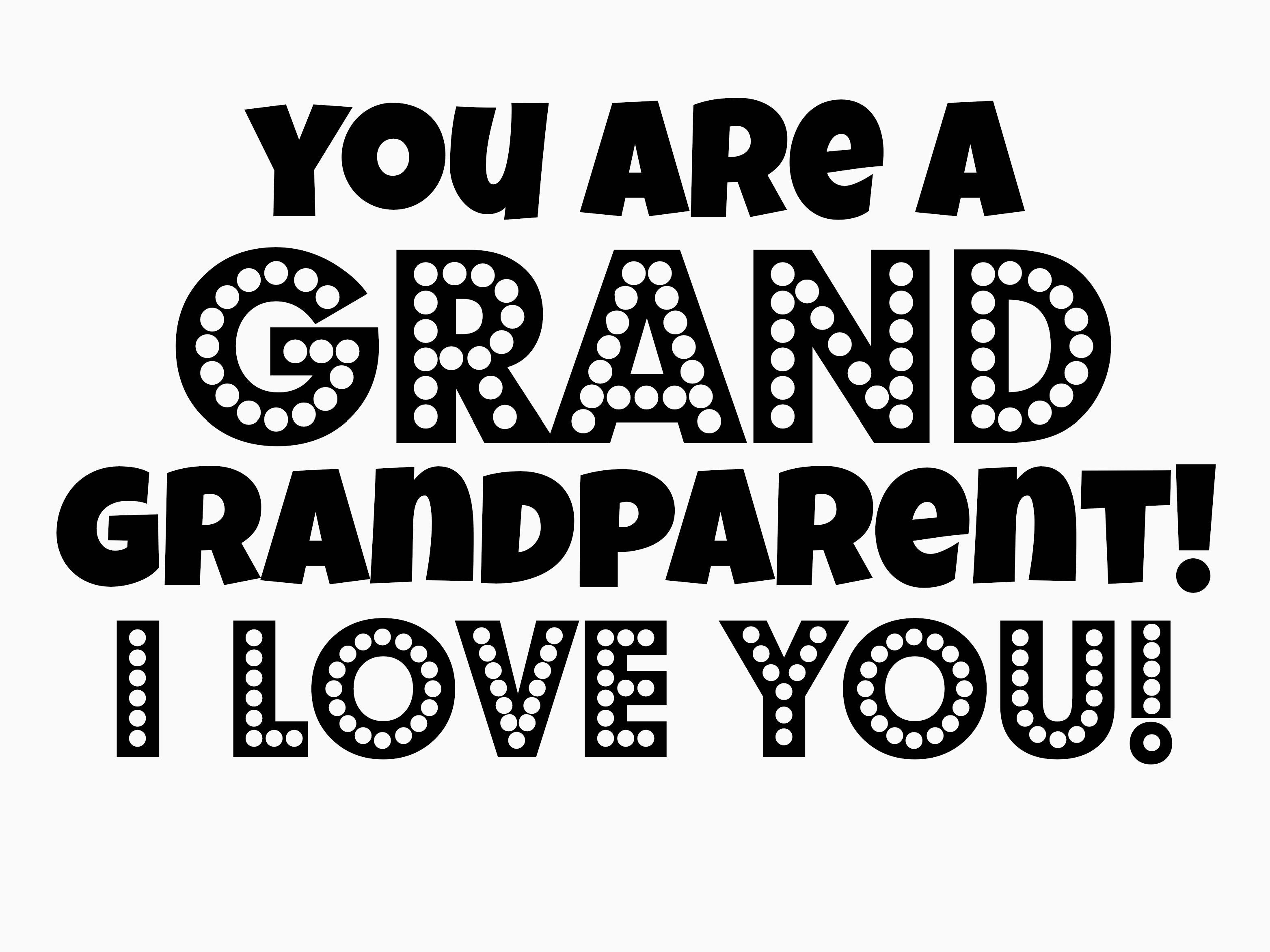 Get Ready For Grandparent S Day With A Free Printable