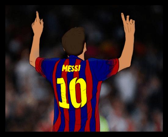 Lionel Messi #1