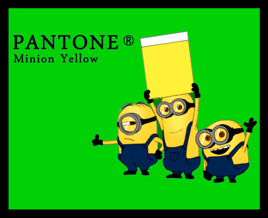 Minion Yellow - The Minions Get a Color!