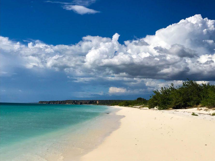 Bahia de las Aguilas beach in Dominican Republic