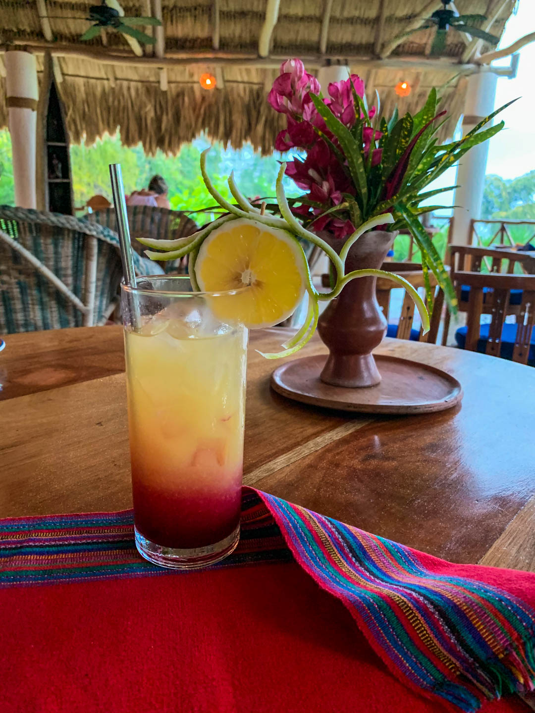 La Lancha welcome cocktail