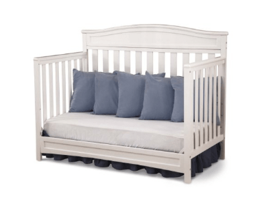 Delta Children Emery 4-in-1 Crib, White