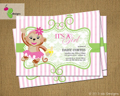 baby shower invite photo