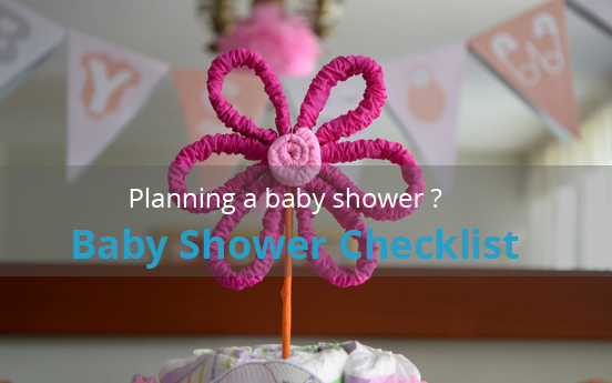 Planning a Baby Shower? Here's the Checklist