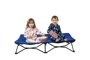 Regalo My Cot Portable Toddler Bed, Includes Fitted Sheet and Travel Case