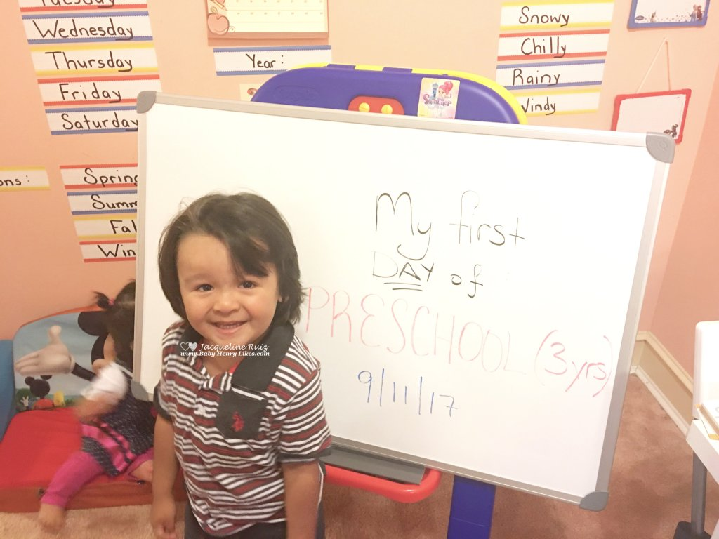 Our First Week Homeschooling: Pre-K! by Baby Henry Likes