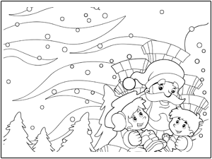 Christmas Colouring Pages and Printables