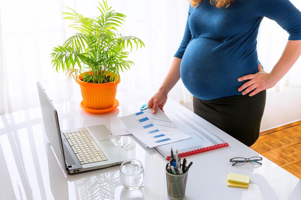 Conciliar carreira e gravidez