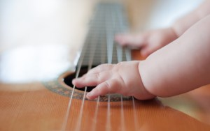 Estímulo musical para o bebê