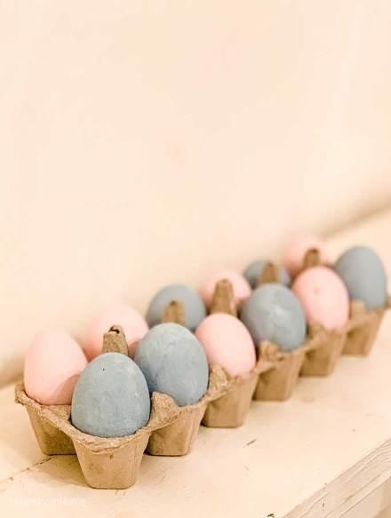 Chá revelação simples com ovos