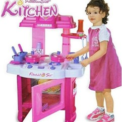 Little Girl Kitchen Sets Cabinet Kits Why Toy Are Important For Girls Baby Kids Set