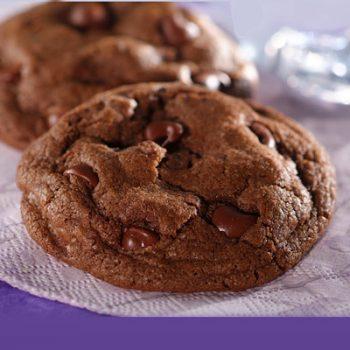 Double-Chocolate Dream Cookies