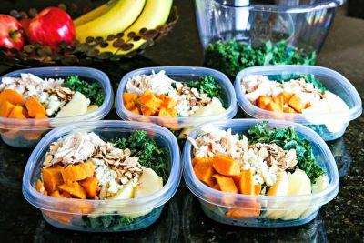Harvest Chicken Salad meal prep