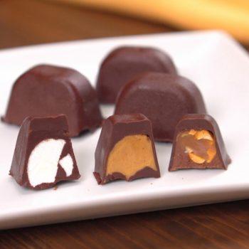 Ice Cube Tray Chocolates Hero