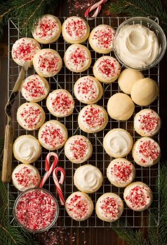 Peppermint Meltaway Cookies | Cooking Classy