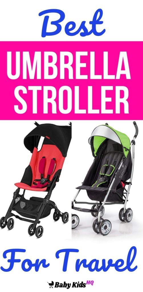 best umbrella stroller for travel