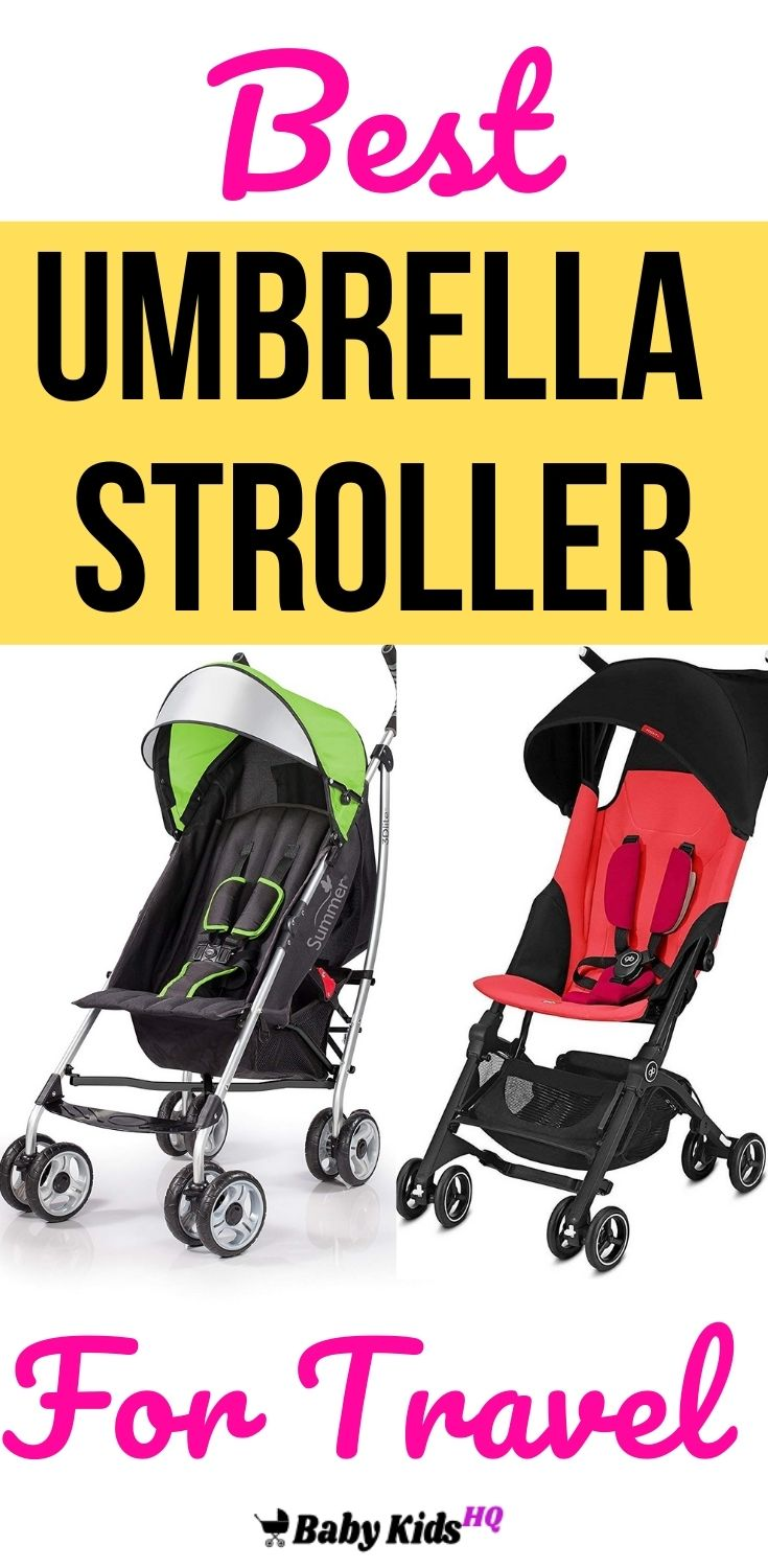 Best Umbrella Stroller For Travel Review And Buyer's Guide. 10