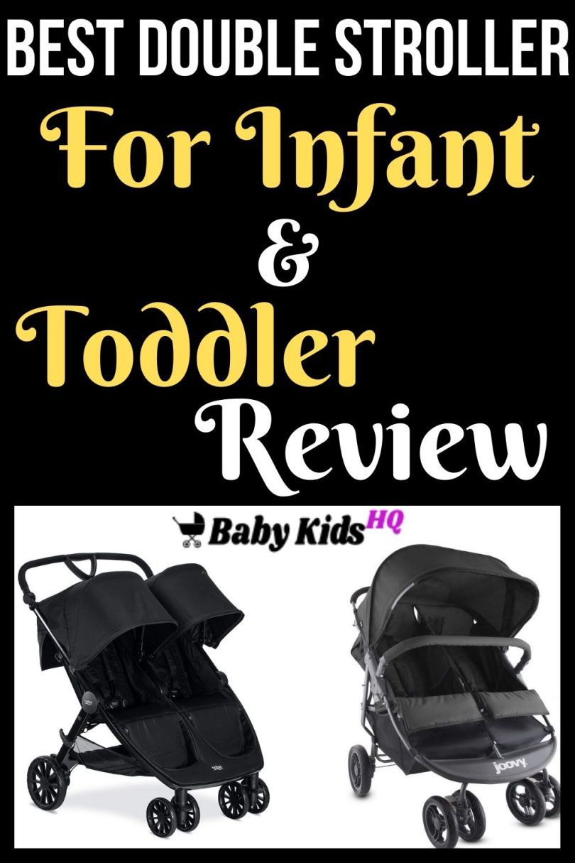 Best Double Stroller For Infant And Toddler Review And ...