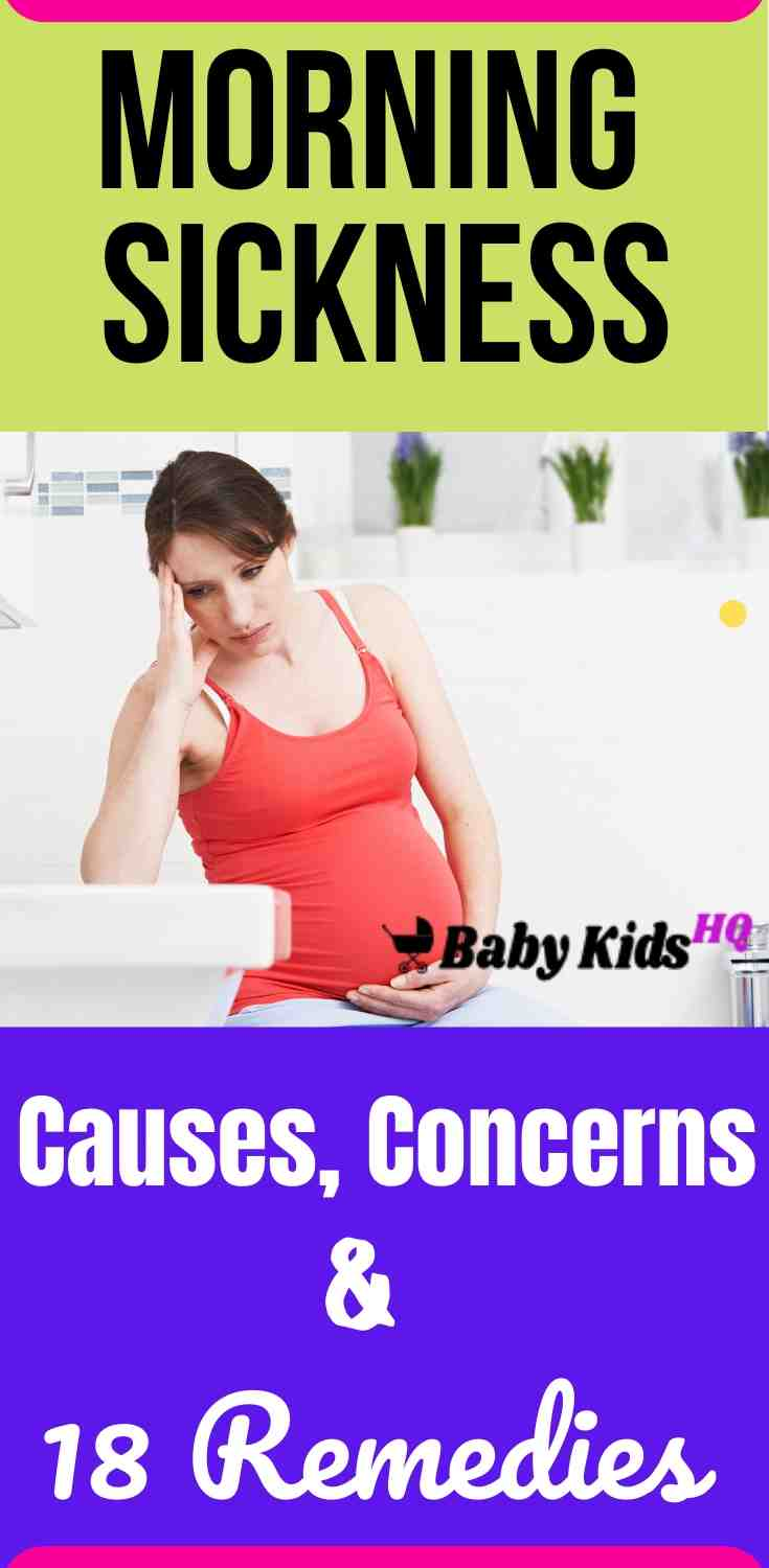 Morning sickness: Causes, Concerns And 18 Remedies 1