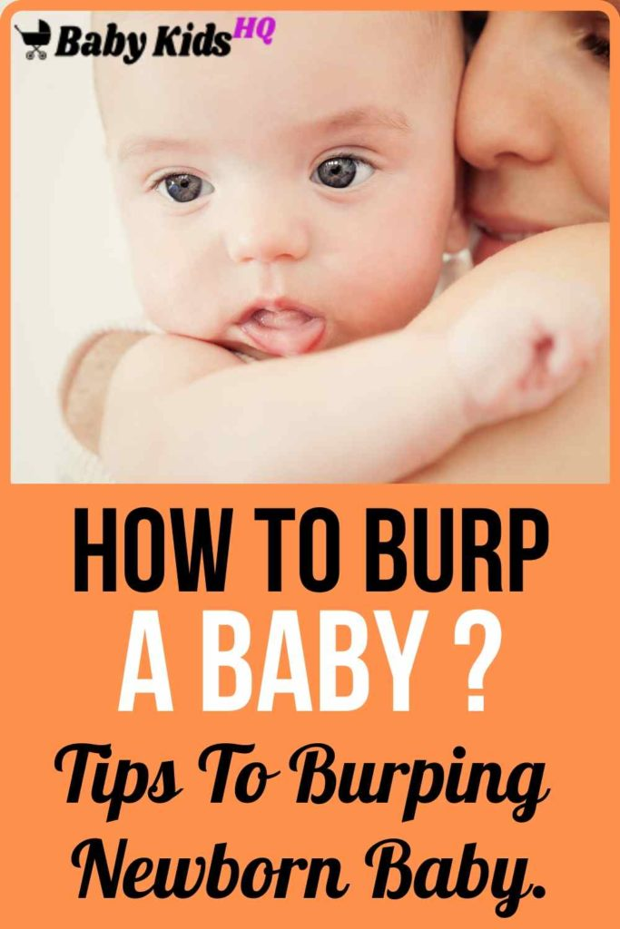 Here's a quick guide to one important aspect of feeding – burping newborn baby. Burping helps to get rid of some of the air that babies tend to swallow during feeding.