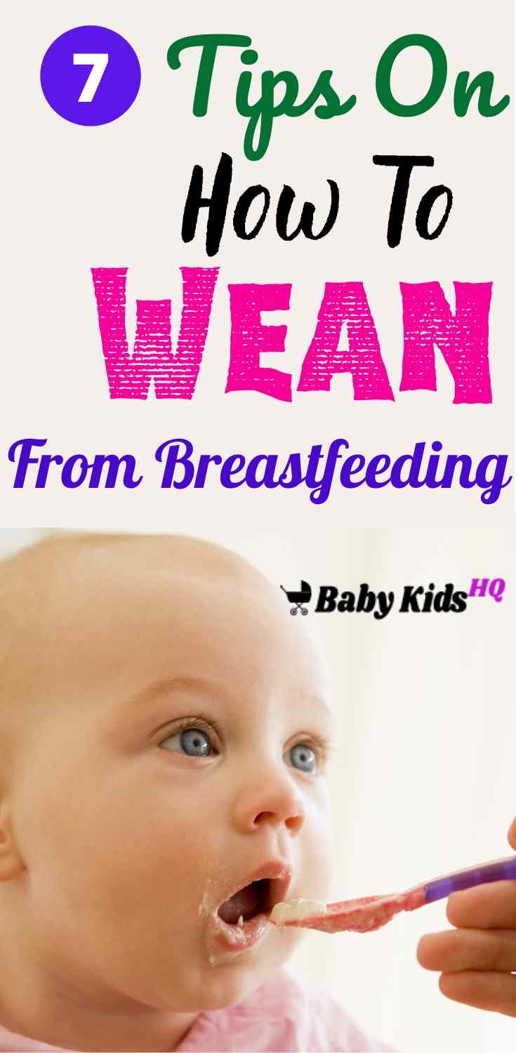 Weaning is the stage in your baby's life when he transitions from breast milk to other sources of nourishment. Whenever you decide to wean your baby, it's important to understand that weaning is a gradual process that calls for patience and understanding from both you and your child. #newmom #newmomtips #pregnancytips