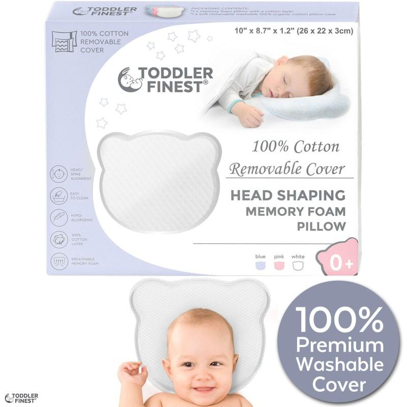 baby head shaping pillow memory foam