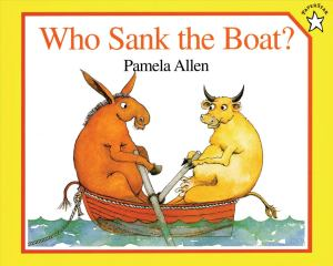 Who sank the Boat book cover