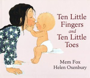 Ten little fingers and ten little toes book cover