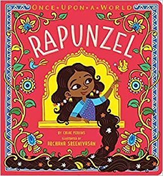 Book cover of Rapunzel by Chloe Perkins