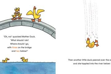 Spread of Ducks Away by Mem Fox