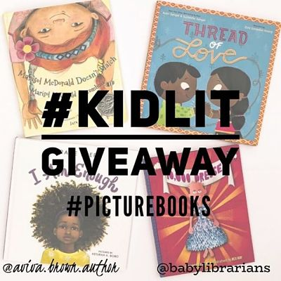Picture Book covers of Instagram Book giveaway
