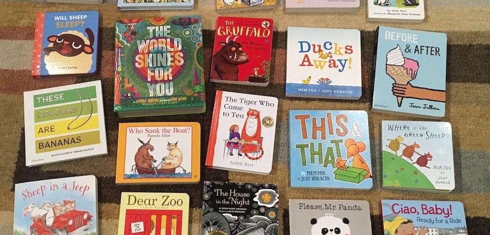 Bunch of favorite board books