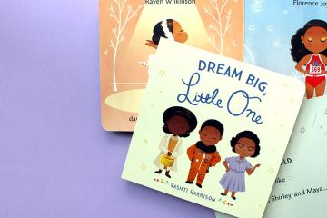 Spread of Dream Big, Little One