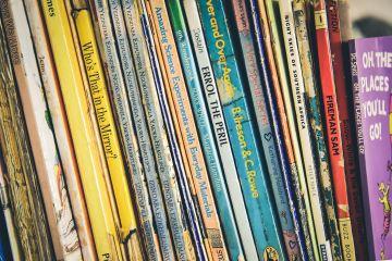 Feature image of children's books