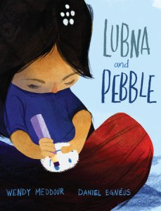 cover of lubna and pebble by wendy meddour
