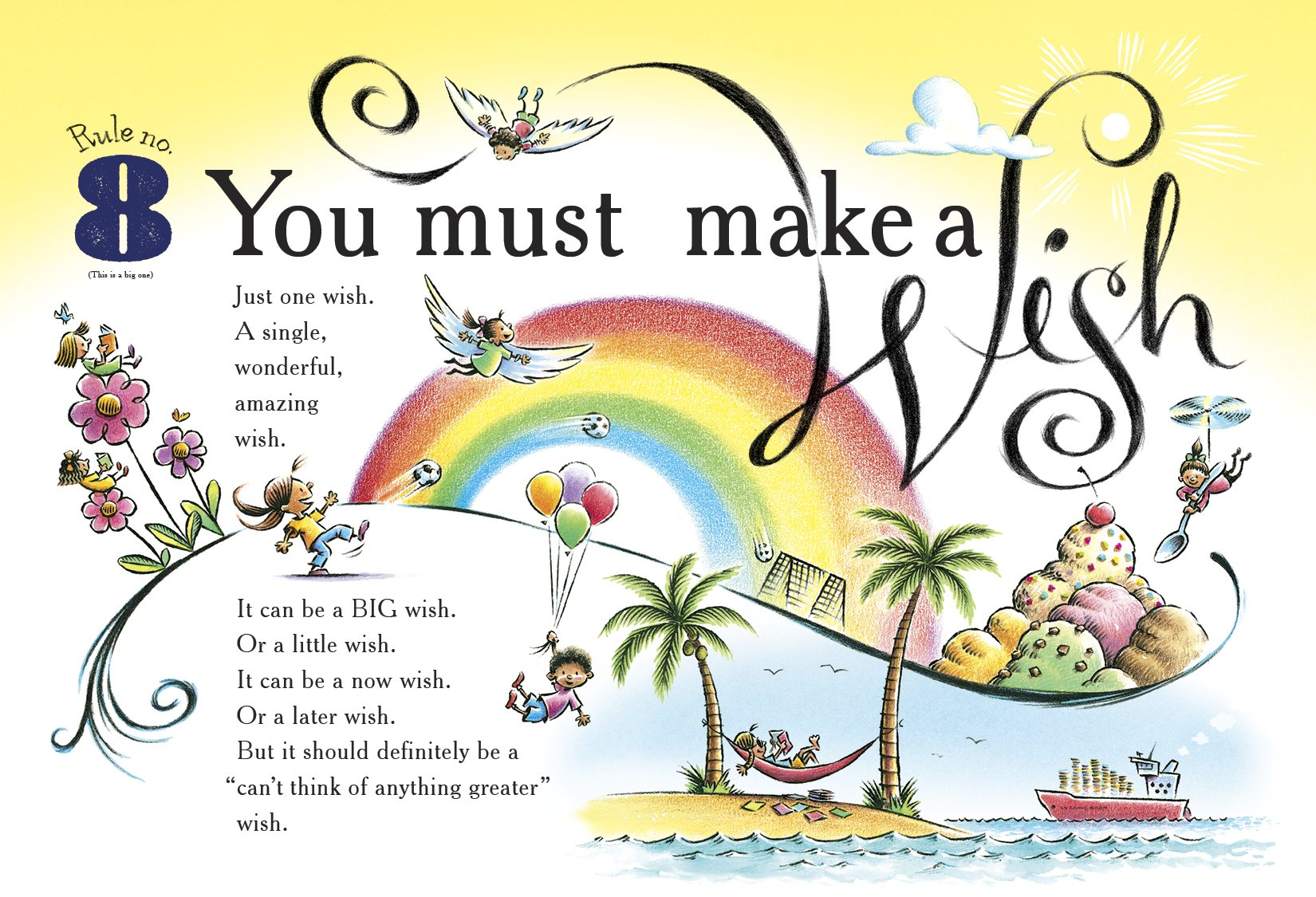 Image result for ten rules of the birthday wish lichtenheld